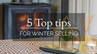 5 Top tips for winter selling
